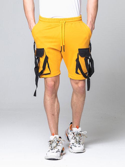 Syn-o Hip Hop Dance style Summer Fun Mustard yellow Short