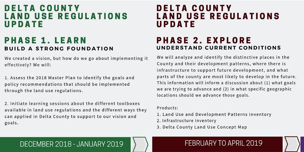 Land Use Regulations Update Community Meeting