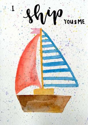 I ship you & me.