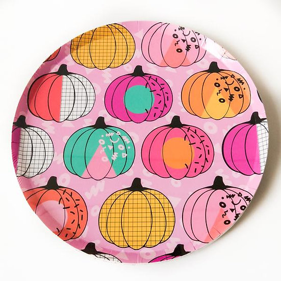 Smashing Pumpkin Paper Plate Pack (Small)