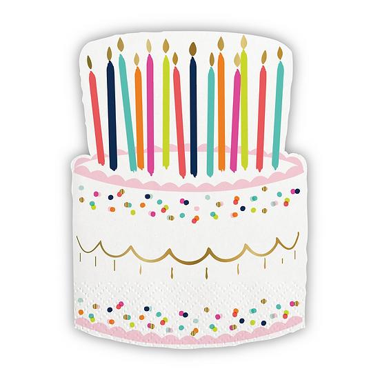 Birthday Cake Napkins