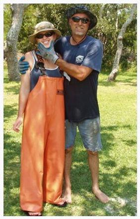 Jay and Jennifer Styron, Carolina Mariculture co.