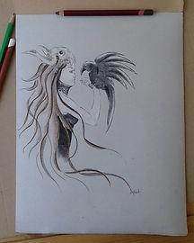 La Chaman et le corbeau