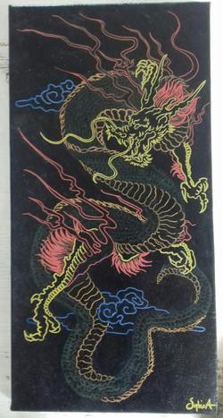 Dragon tibétain