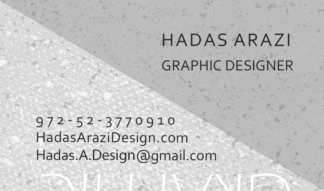 Business Card side 2