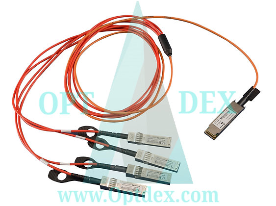 Extreme Networks 10GB-4-C03-QSFP 4X10GB SFP+ TO QSFP CU CABLE 3M