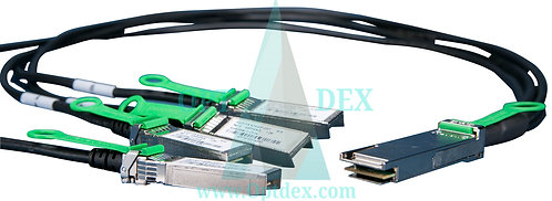Extreme Networks 10321 QSFP+ - 4xSFP+ fan-out cbl 3m