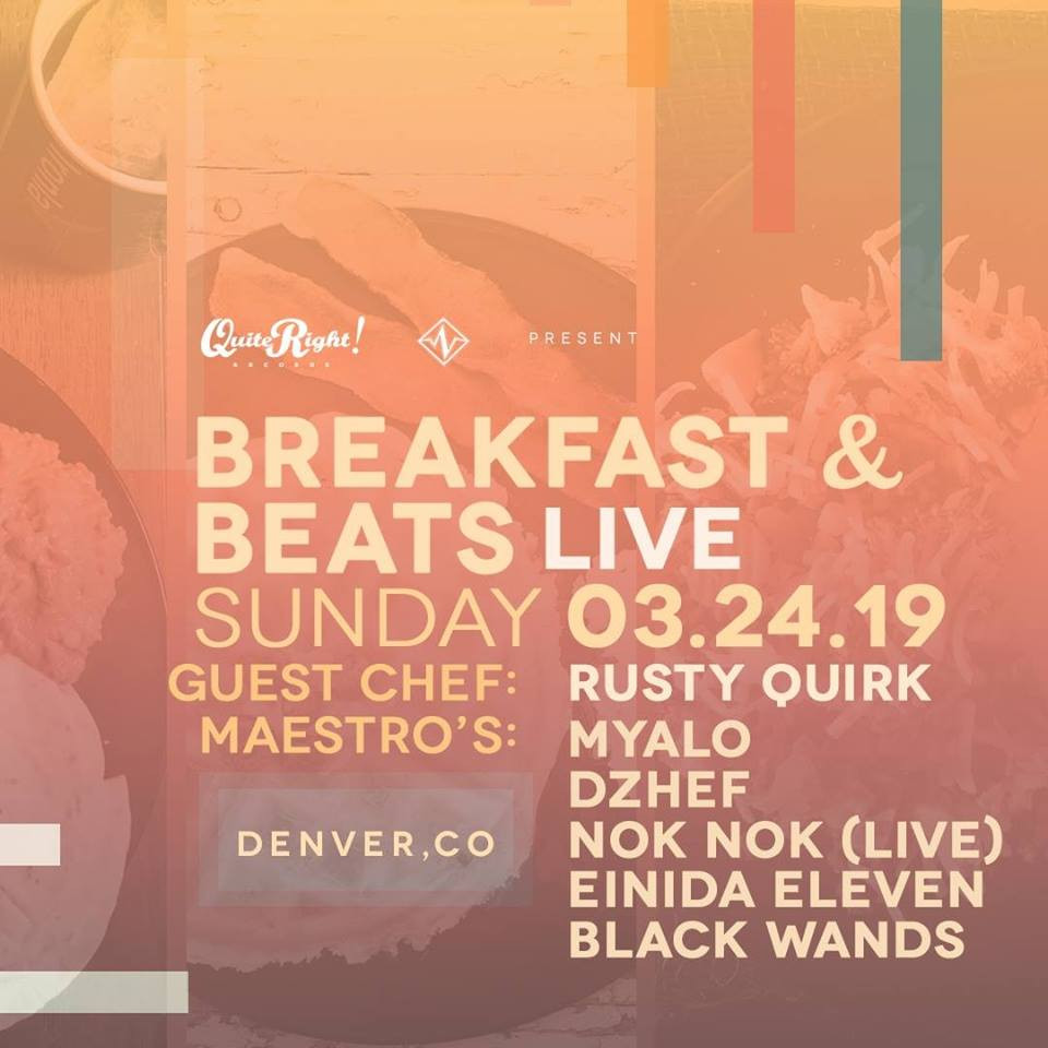 Quite Right! Records presents: Breakfast & Beats LIVE