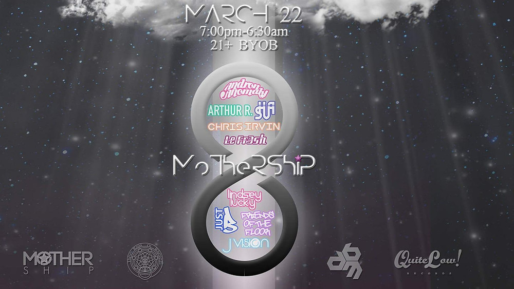 MoTheRShiP 8 Flyer Art