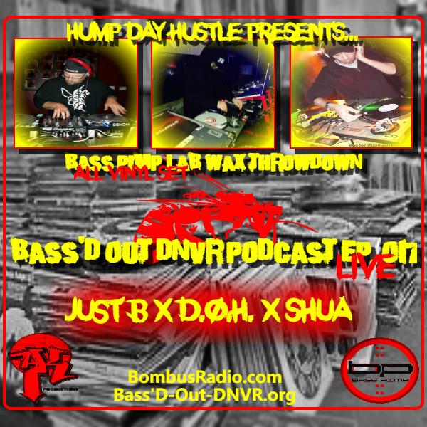 All Wax Throwdown - Just B x D.O.H. x Shua