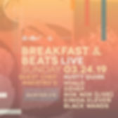 Breakfast & Beats Live 03.24.19