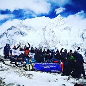 Genix Breaks World Record On Mt. Everest