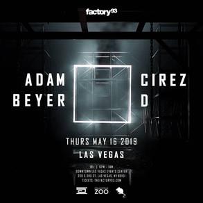 Factory 93 Announces Adam Beyer X Cirez D Date in Las Vegas