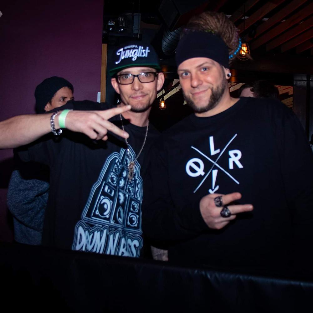 Denver top dnb emcees: Relyt & Slim_R_I