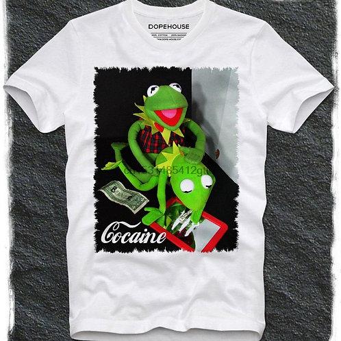 Boys Night Out Cocaine Kermit Tee