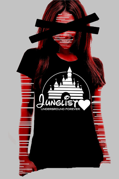 "Women's UF ""Junglist Love"" Tee"