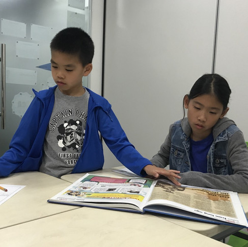 Junior Journalists Dylan and Dana Interview Ms. Lenore Look