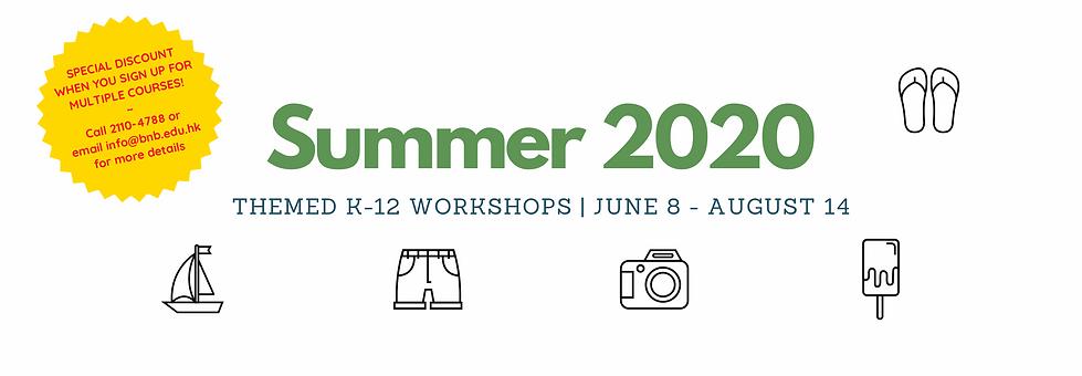 WEBSITE - Summer 2020 Banner with Discou