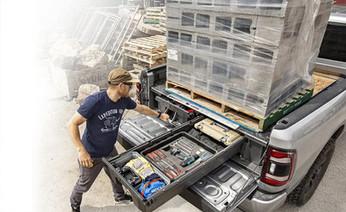 Decked Truck Storage