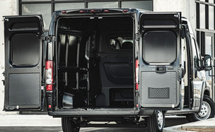 Ram Promaster Crew Van - back detail