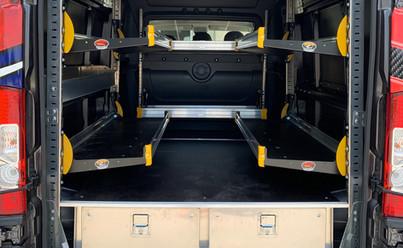 Ram Promaster Crew Van - detail