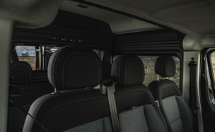 Ram Promaster Crew Van - interior detail