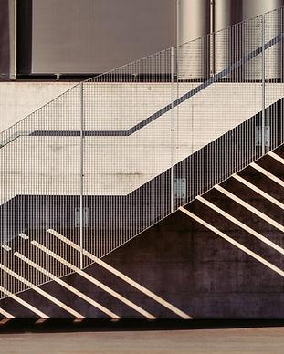 Forte contrasto Staircase
