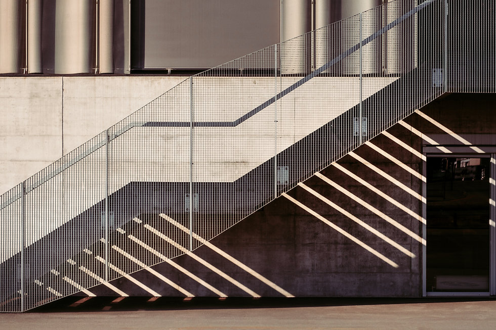High Contrast Staircase