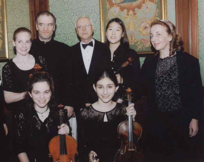 WYCO students with Valery Gergiev