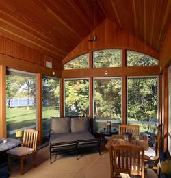 Porch Interior Willowood Estate