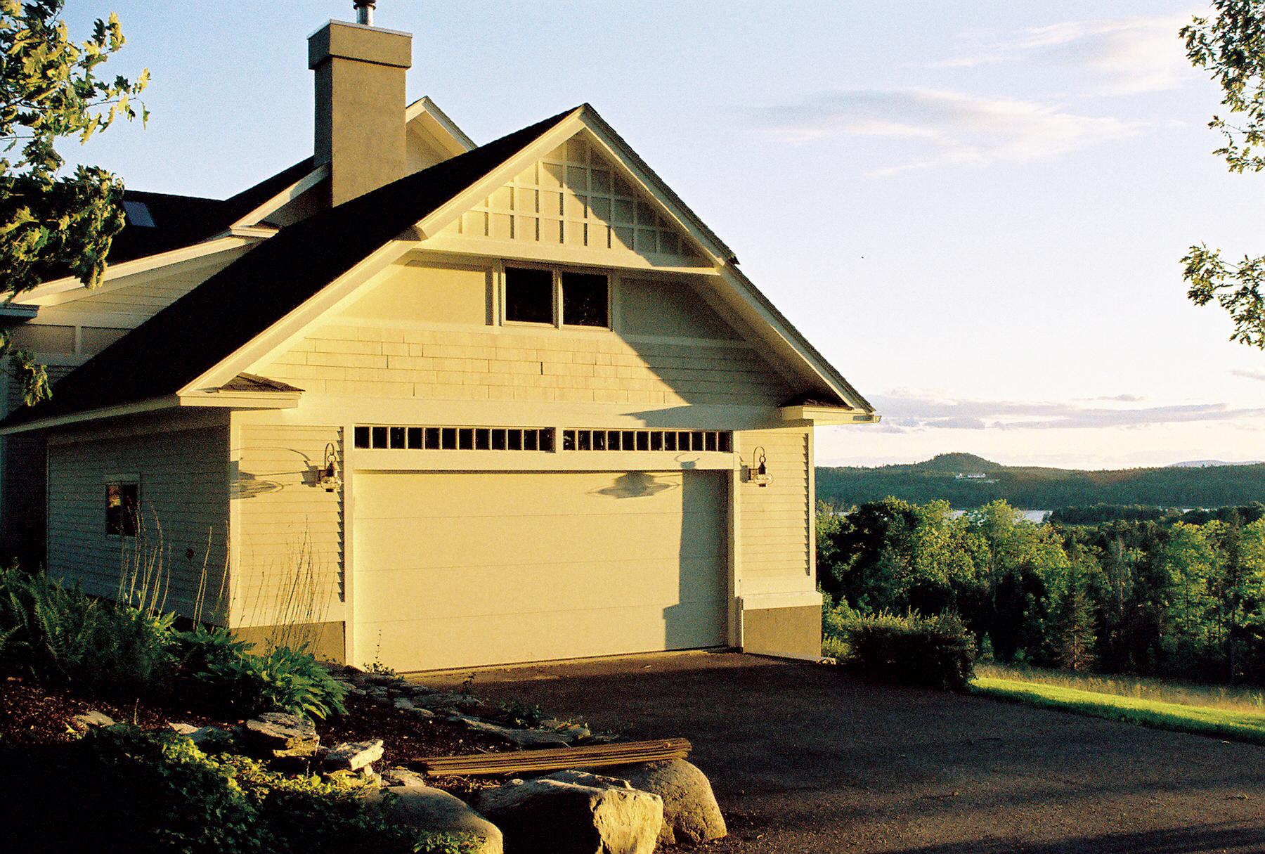 Garage Penobscot Bay Summer Home