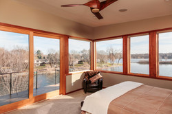 Bedroom Lakefront Modern