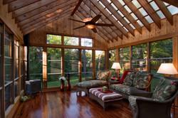 Idyllic Porch Interior