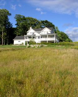 Exterior Penobscot Bay Summer Home