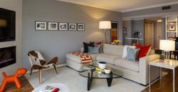 Living Room Calhoun Condo