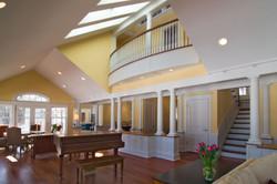 Balcony North Oaks Lake Home