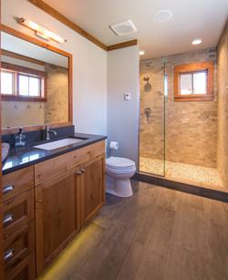 Bathroom North Woods Lake Cabin