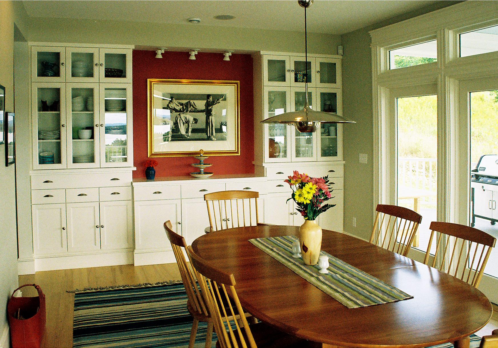 Dining Room Penobscot Summer Home