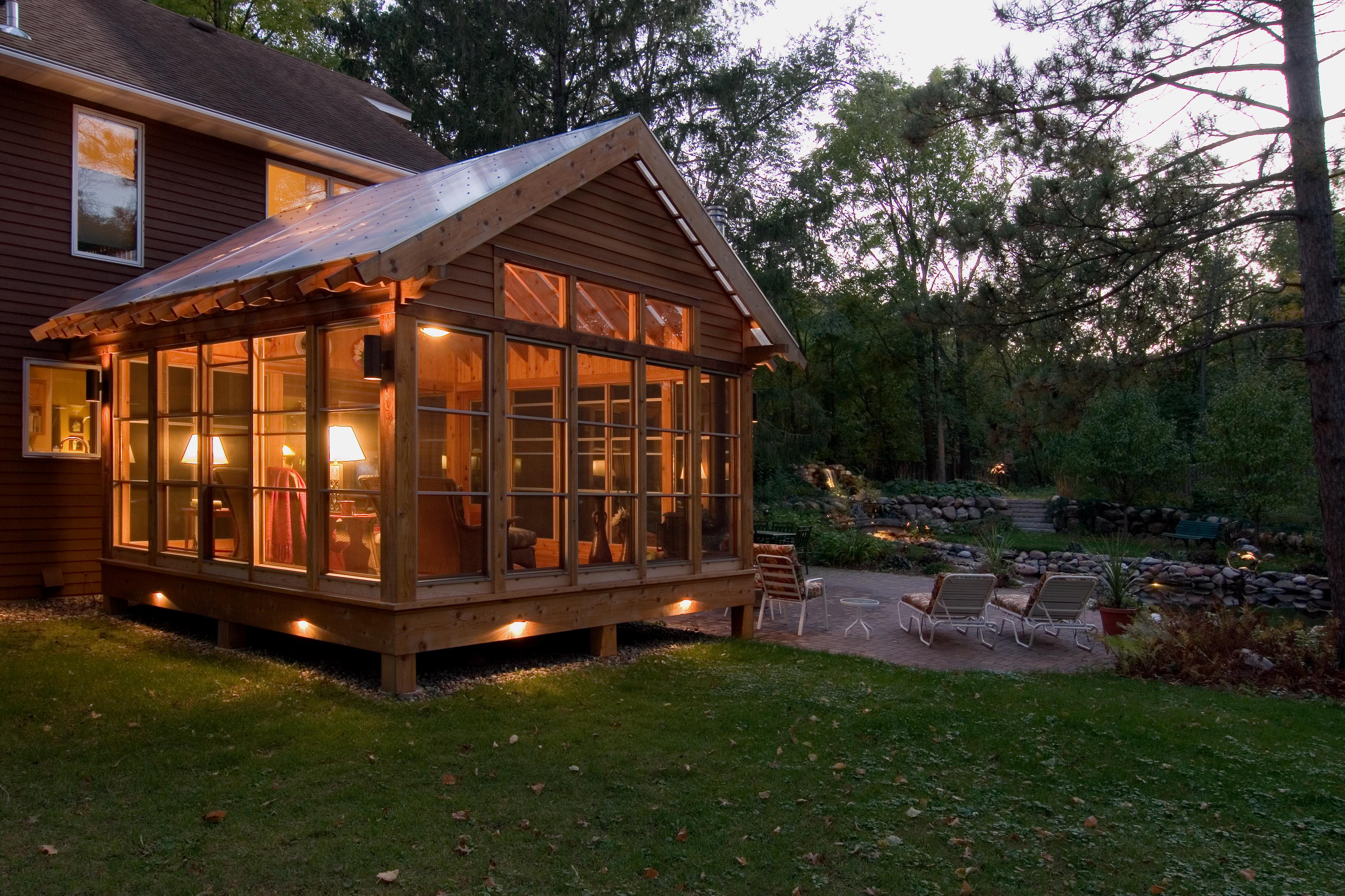 Idyllic Porch Exterior