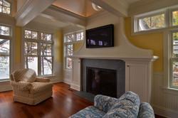 Fireplace North Oaks Lake Home