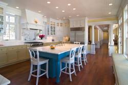 Kitchen Island North Oaks Lake Home
