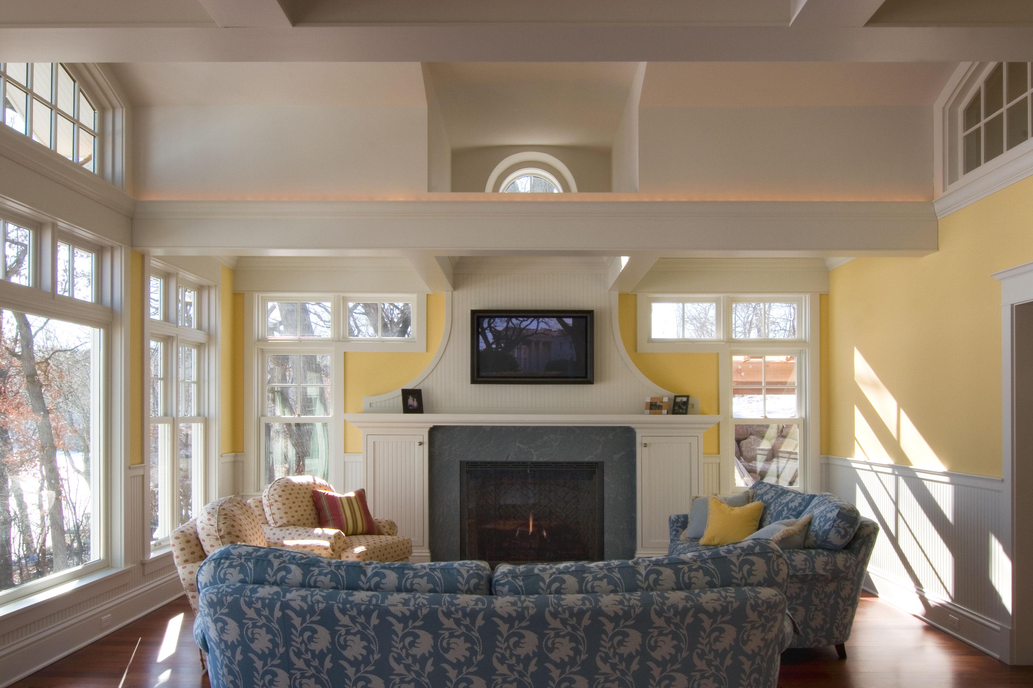 Living Room North Oaks Lake Home