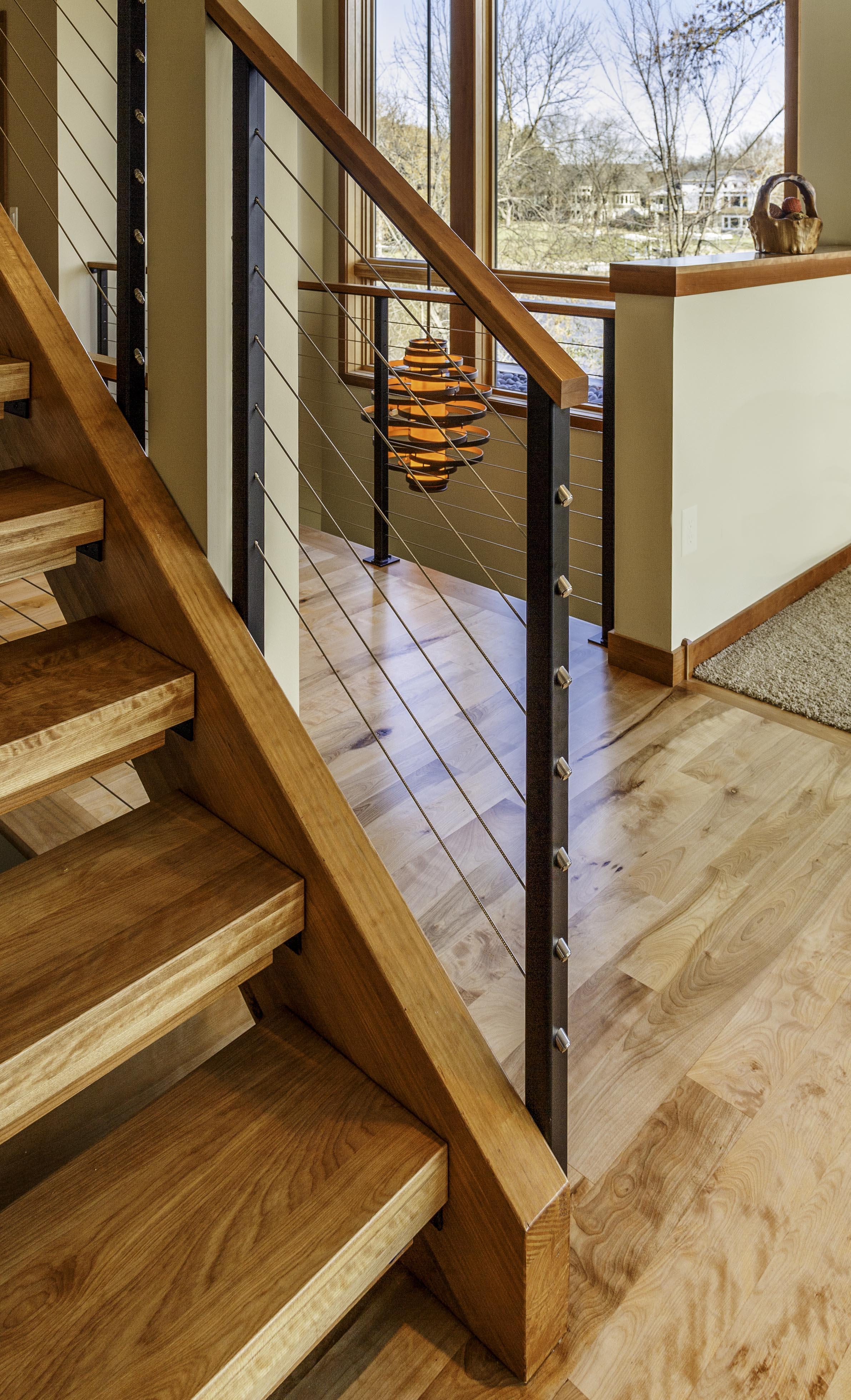 Staircase Lakeside Modern
