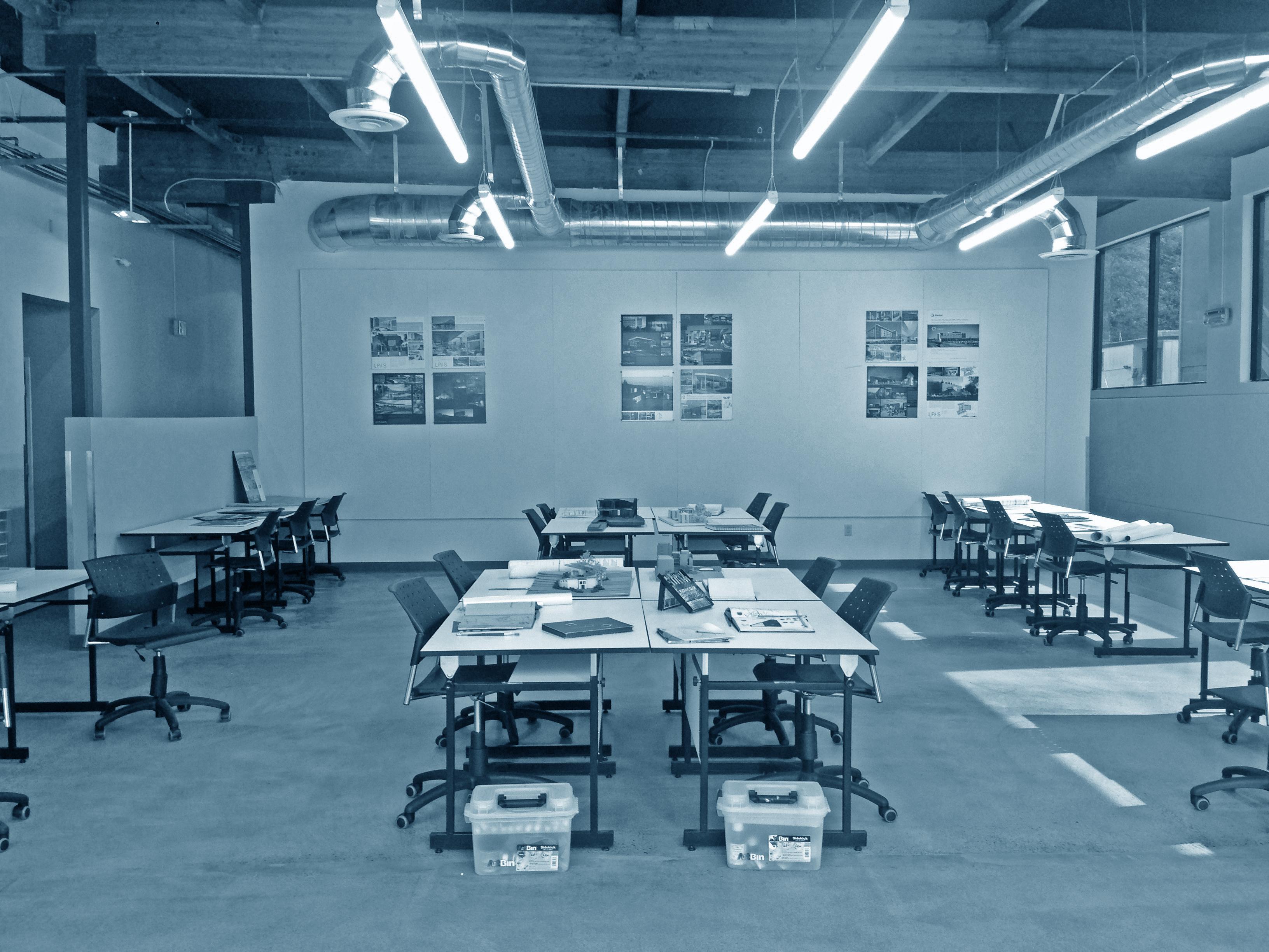 Main drafting Room bw