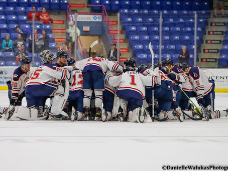 Tomahawks Season Ends Early As Black Bears Eliminate Johnstown From Robertson Cup Playoffs