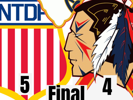 Tomahawks Fall to Future NHL Talent (USA U18 Team) In A Close Game