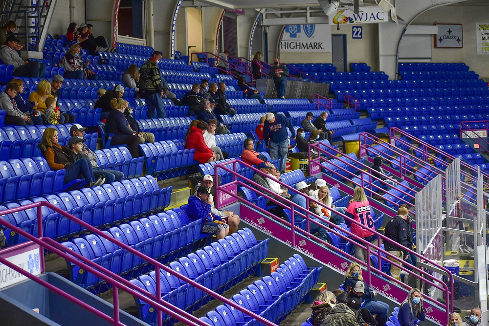 Seating will be limited for the Johnstown Tomahawks 2020-21 NAHL home opener due to Covid-19 procedures and policies.
