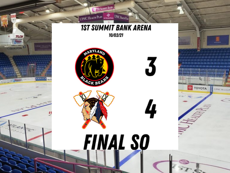 Post-Game Report #7 -Tomahawks Capture 4-3 SO Home-Opening Win Over Maryland
