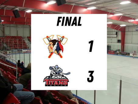 Post-Game Report #9 - Titans Prevent Tomahawks From Sweeping Weekend Series