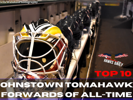 Nicoletti: Top 10 Johnstown Tomahawks Forwards of All-Time